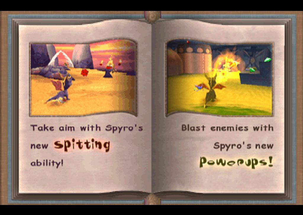 Спайро 2: Скриншот из демо
